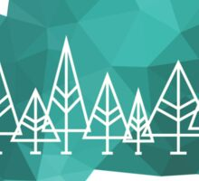 Graphic Forest Sticker