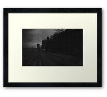 brooklyn heights noir Framed Print