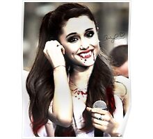 Ariana Grande Nihgthmare Halloween Girl Poster