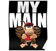 My Main - Diddy Kong Poster