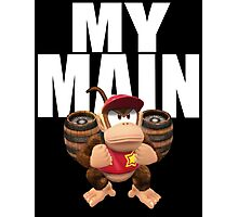 My Main - Diddy Kong Photographic Print