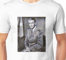 Brig. Gen. James M. Stewart Actor by John Springfield Unisex T-Shirt