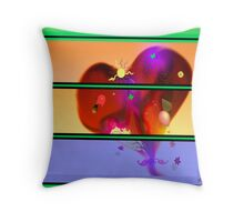 a mother's heart Throw Pillow