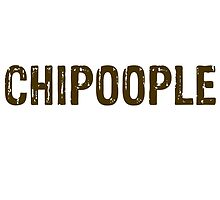Chipoople Chipotle  by nyrhipster9