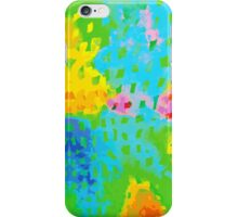 Abstract Watercolor Painting iPhone Case/Skin