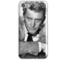 Kirk Douglas Actor by John Springfield iPhone Case/Skin