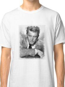 Kirk Douglas Actor by John Springfield Classic T-Shirt
