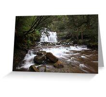 Liffey Falls Tasmania Greeting Card