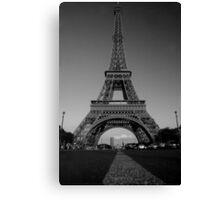 Madame Eiffel Canvas Print