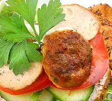 Chicken-Burger de Light by SmoothBreeze7