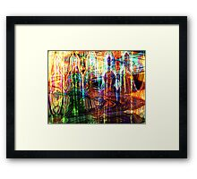 Lovely Colour. Framed Print