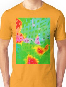 Colorful Abstract Watercolor Painting Background Unisex T-Shirt