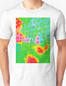 Colorful Abstract Watercolor Painting Background T-Shirt