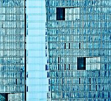 Windows in Blue by cclaude