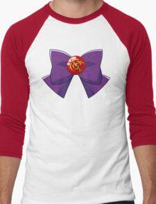 Sailor Mars Bow Men's Baseball ¾ T-Shirt