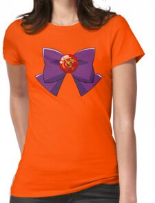 Sailor Mars Bow Womens Fitted T-Shirt