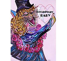 Broadway BABY CAT Photographic Print