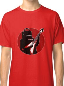 Badbot in Black and Red Classic T-Shirt