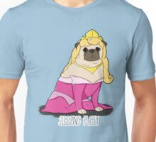 Sleeping Pugly Make it Pink! Unisex T-Shirt