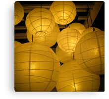lanterns 2 Canvas Print