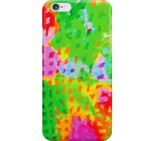 Multicolor Abstract Watercolor Painting iPhone Case/Skin