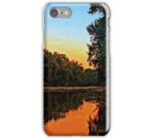 East Bank of the Little Miami River iPhone Case/Skin