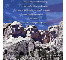 I Pledge of Allegiance Photographic Print