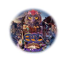 EDC 2015 Owl by disneyfied