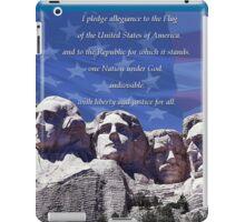 I Pledge of Allegiance iPad Case/Skin
