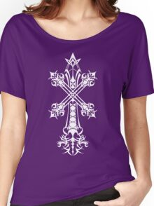 Rood of Yocus / Blood Sin (White), Vagrant Story Women's Relaxed Fit T-Shirt
