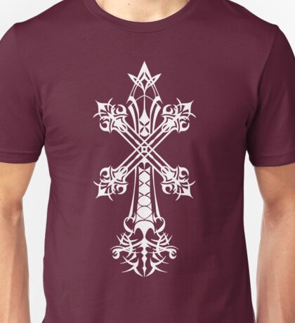 Rood of Yocus / Blood Sin (White), Vagrant Story Unisex T-Shirt