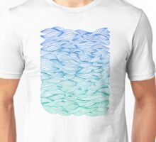Ombré Waves Unisex T-Shirt