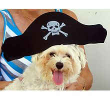 Salty Dog ARRRRR! Photographic Print