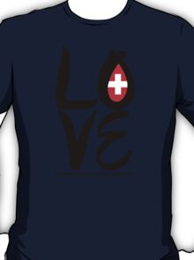 LOVE Eurovision [Switzerland] T-Shirt