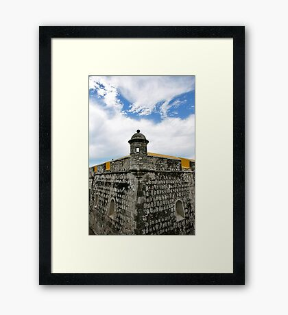 Fuerte de San Jose del Alto Framed Print
