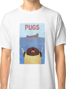 PUGS Fake Movie Poster Classic T-Shirt