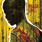 Maasai girl by Konstantinos Arvanitopoulos