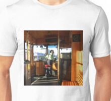 Driving The Cable Car Unisex T-Shirt