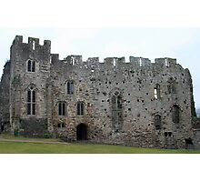 Inside Chepstow Castle - outer keep Photographic Print