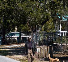 Walking The Dog by Rick  Bender