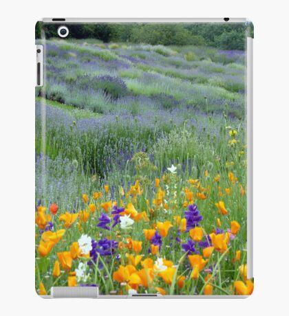 Yorkshire Lavender iPad Case/Skin