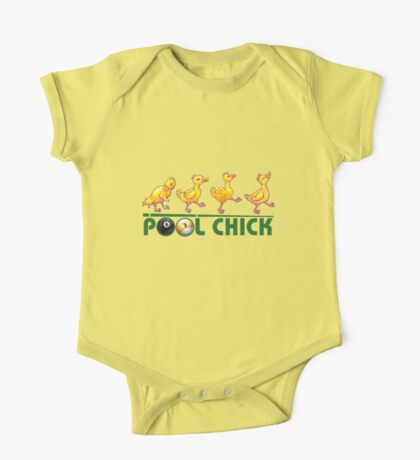 Pool Chick One Piece - Short Sleeve