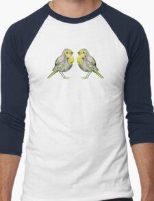 Little Yellow Birds Men's Baseball ¾ T-Shirt
