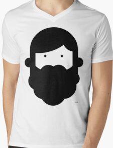 GBwB Large Face Logo Mens V-Neck T-Shirt