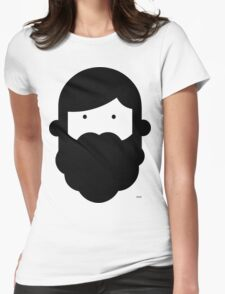GBwB Large Face Logo Womens Fitted T-Shirt