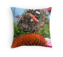 Butterfly July Throw Pillow