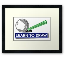 Learn to Draw Framed Print