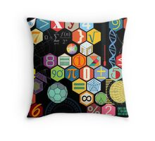 Math in black! Throw Pillow
