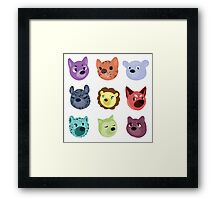 world wildlife Framed Print