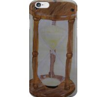 sdd Hourglass Print from original painting 1H iPhone Case/Skin